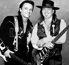 Jimmie and Stevie Ray Vaughan