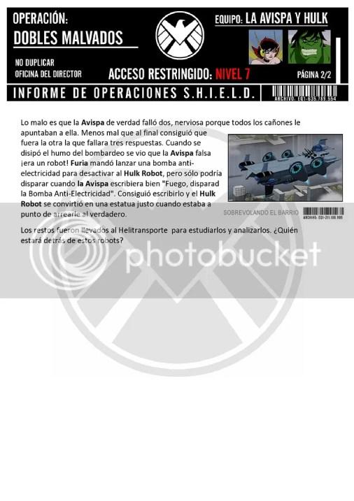 Informe operación dobles malignos pagina 2