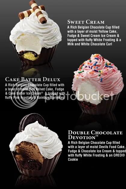 Coldstone Creamery Cupcakes