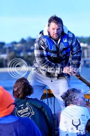 Rowing the high seas