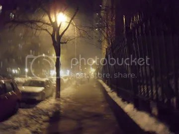Winter Night NYC