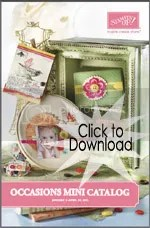 Stampin' Up! Occasions Mini Catalog