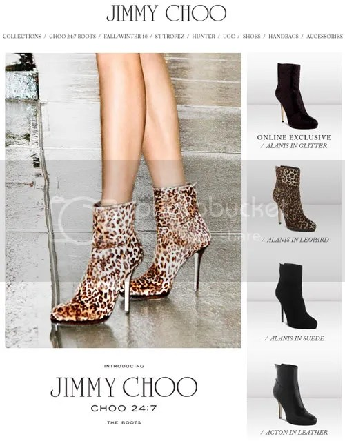 "6803e7a3d30 ""The Perfect Statement Boot"" for CHOO 24 7"