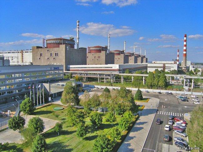 L'impianto nucleare di Zaporizhia