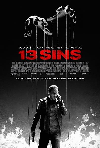 13 грехов / 13 Sins (2014) WEB-DLRip
