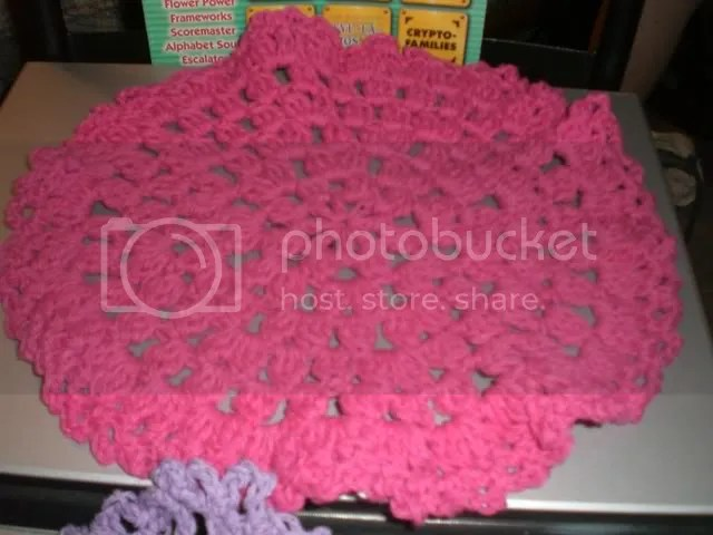 Sonias Speedy Dishcloth in pink