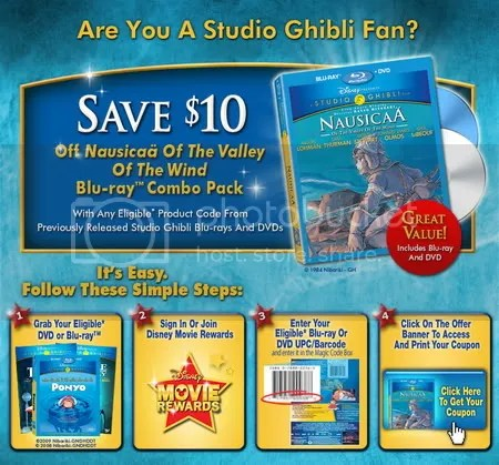 Nausicaa BD Coupon