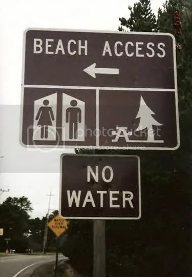FunnySign6-2006.jpg I'll go to a beach with water. image by juniort2