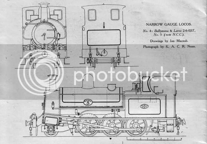Ballymena & Larne Railway Beyer Peacock 2-6-0ST (originally published in Railways, no. 44, Dec. 1943, page 190