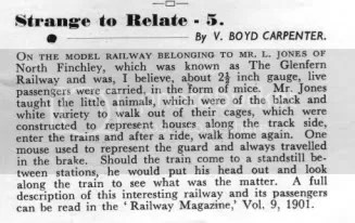 From Railways February 1951 12 (2): 29. I havent been able to check the original reference. Could it have been some sort of April Fools?