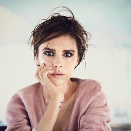 Victoria Beckham covers Vogue Australia in Louis Vuitton AW13 slip