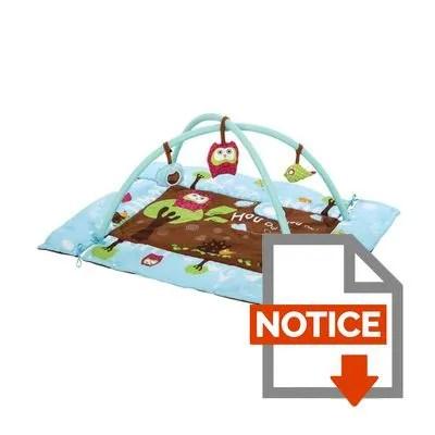 https www cdiscount com pret a porter bebe puericulture ludi tapis d eveil chouette f 113172503 3550839928732 html