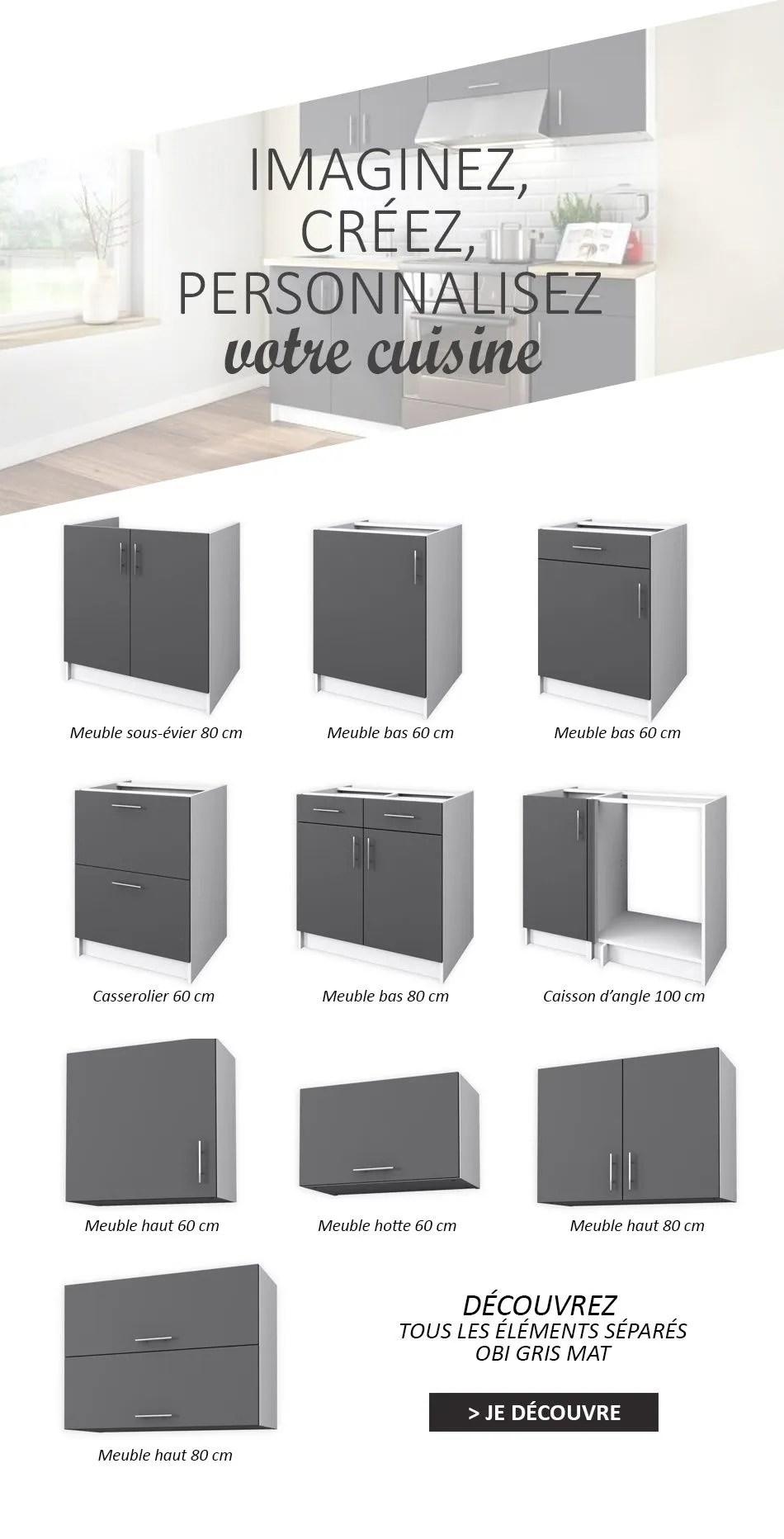 obi meuble haut de cuisine l 60 cm
