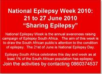National Office Epilepsy Week Campaign