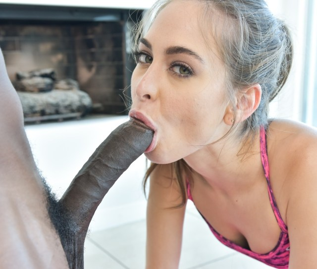 Petite Black Riley Reid With Small Tits Giving Blowjob Image Gallery 291266