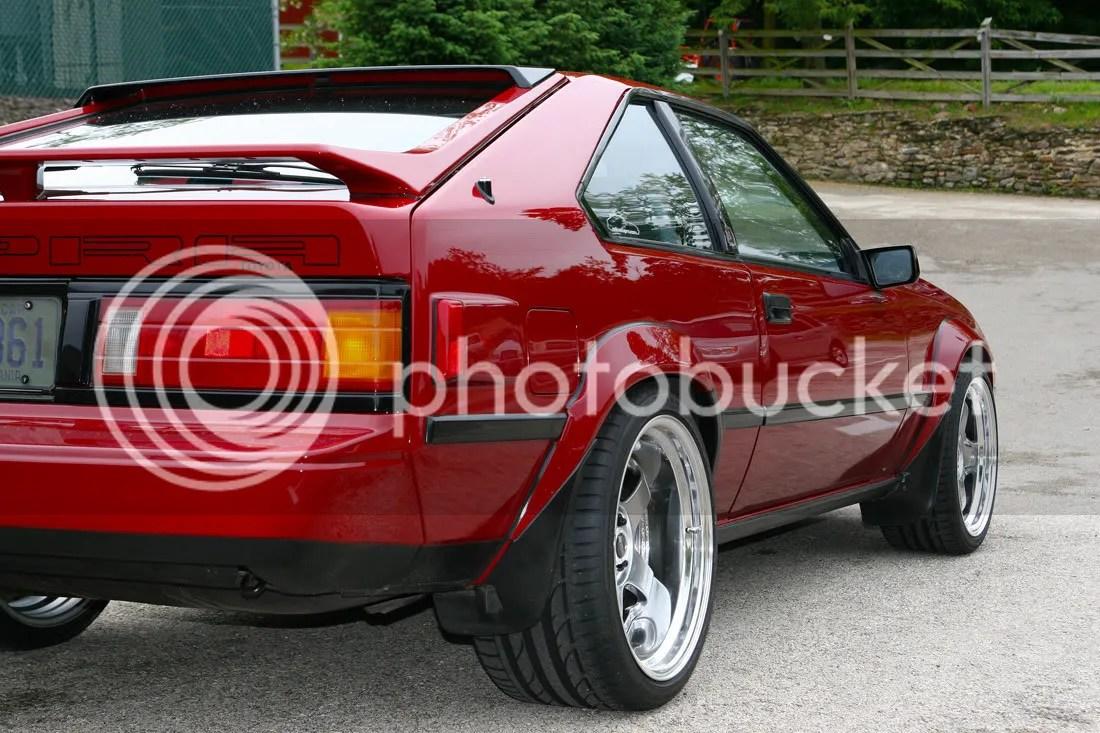 My SDR 85 Toyota Celica Supra 7MGTE W SSR SP1 18x9 18x105