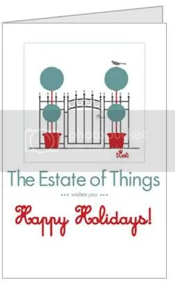The Estate of Things wishes you a Happy Holidays