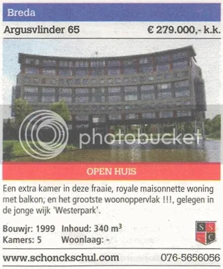 De Makelaar,Jaargang 01,Breda,Argusvlinder,appartement,te koop