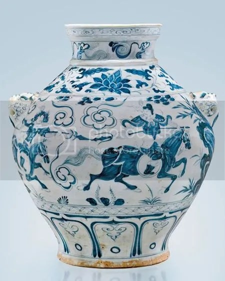 photo BlueAndWhiteOvoidPorcelainJarWithSceneFromTheYuanZajuDramaTheSaviorYuchiGong14th-centuryYuanDynasty.jpg