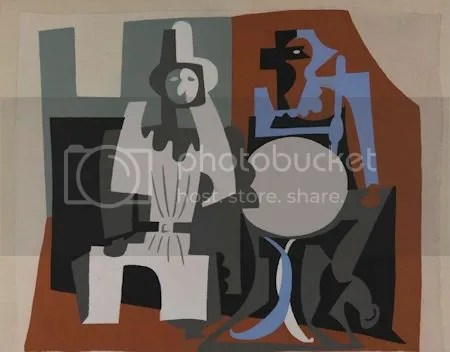 photo PabloPicassoPierrotAndHarlequinOnACafeacuteTerraceCa1922StencilOnPaper.jpg