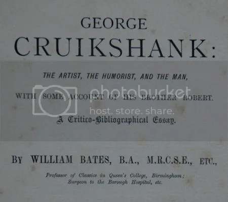 photo DSC_5935GeorgeCruikshankTheArtistTheHumoristAndTheManByWilliamBatesSecondEdition187901Detail.jpg
