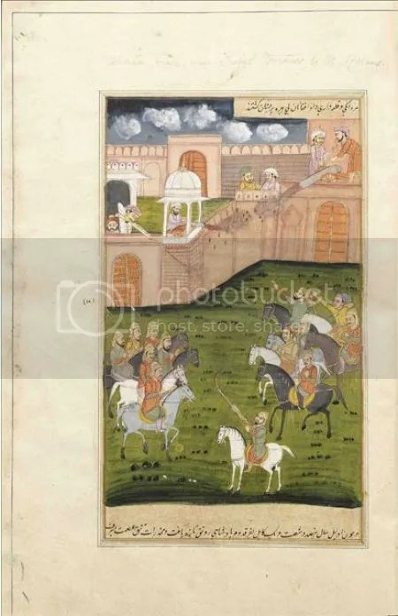 photo AkbarnamaBookOfAkbarFromCollectionNathanielMiddleton1750-1807EastIndiaCompanyResidentAtLucknowCreatedInNorthIndiaProbablyMurshidabadLate18thCenturyPersianManuscriptOnCream-colouredPape.jpg