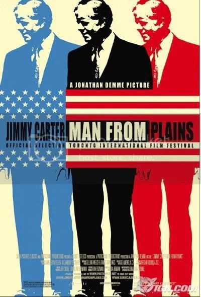 cool retro poster for Man From Plains