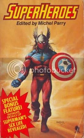Michel Parry - Superheroes