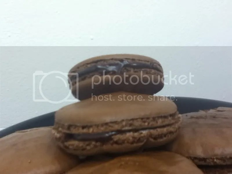 Chocolate Macarons w/ Chocolate Ganache