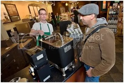 starbucks production line