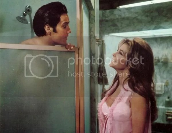 Elvis and Michele Carey in Live a Little, Love a Little
