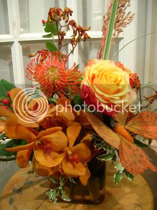 A unique combination of flowers