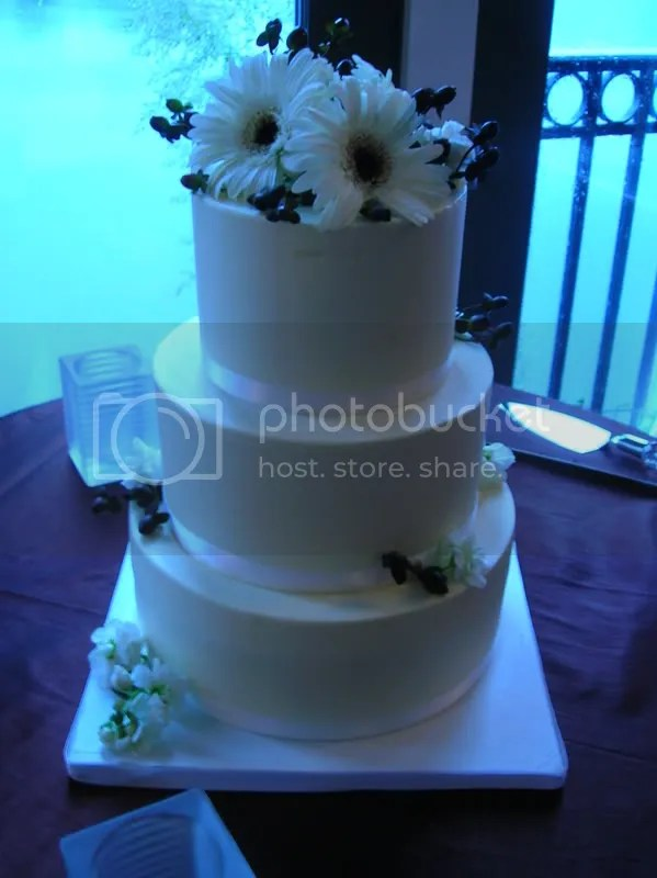 The cake, post-decoration