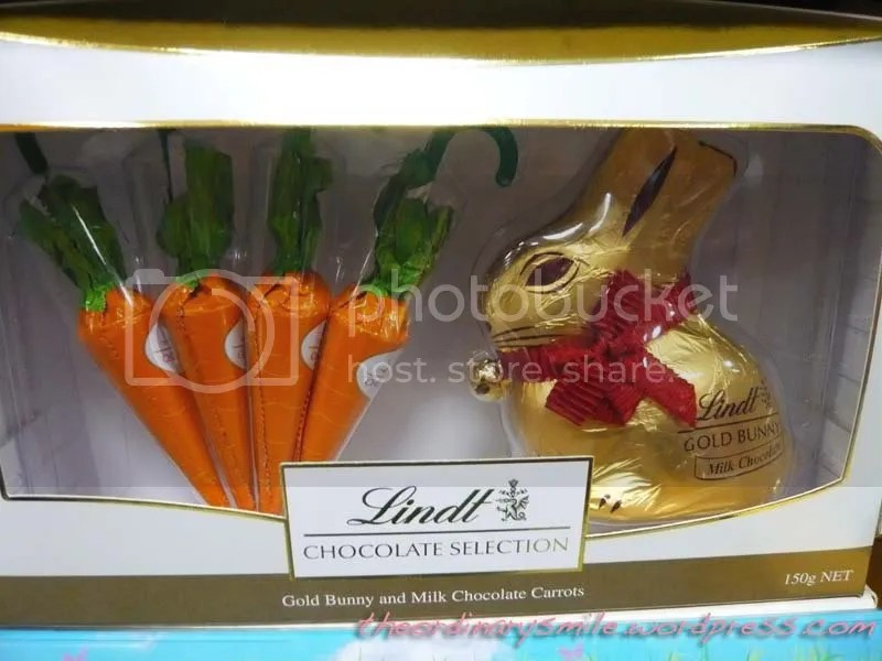 Chocolate carrots and bunny. SO CUTE