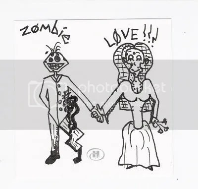 Illustration Friday - Wedding