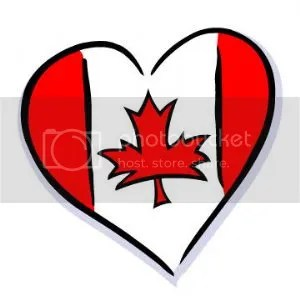 Canada Day Heart