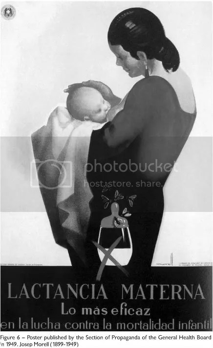 Spanish Pro-Breastfeeding Poster, 1949