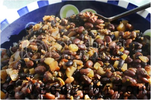Berbere Beans and Rice