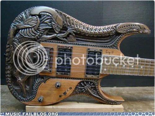 Giger Guitar