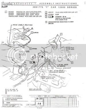 M20 Speedo Gear: Help Please!  Team Camaro Tech