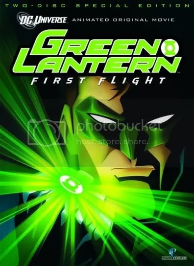Green Lantern: First Flight 2 disc special edition.