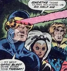 Exhibit E: Cyclops is a jerk
