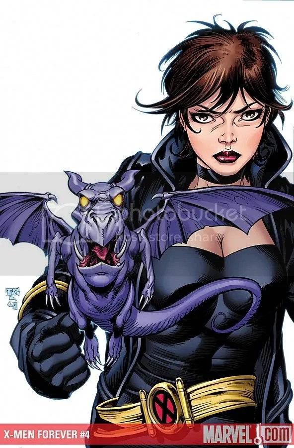Angry Kitty Pryde is Angry
