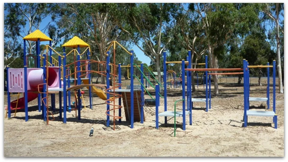 plastic toddlers' playground at Katanning All Ages Playground