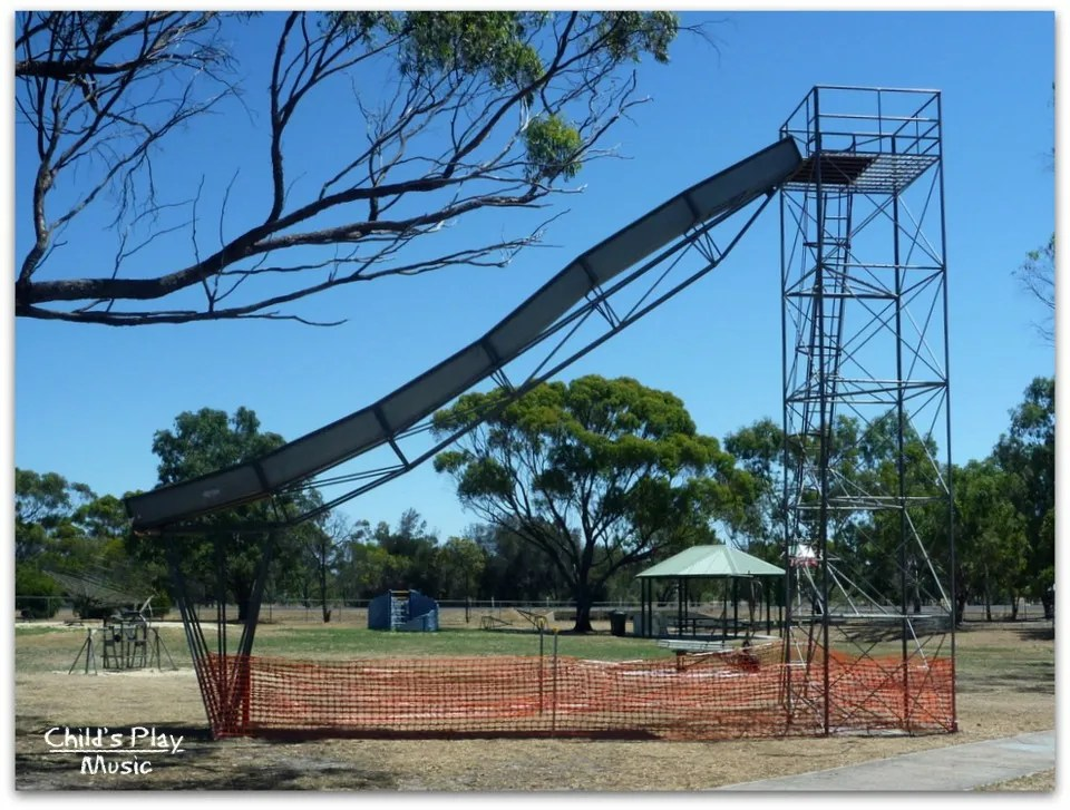 Big slide at Katanning All Ages Playground