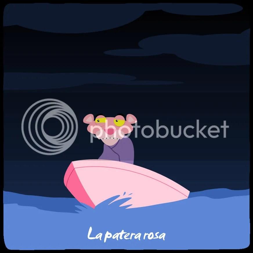 La patera rosa