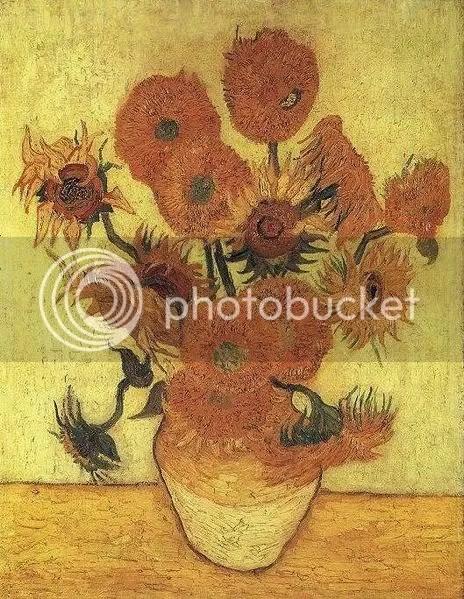 Zonnebloemen, tercera repetición (1889), Van Gogh