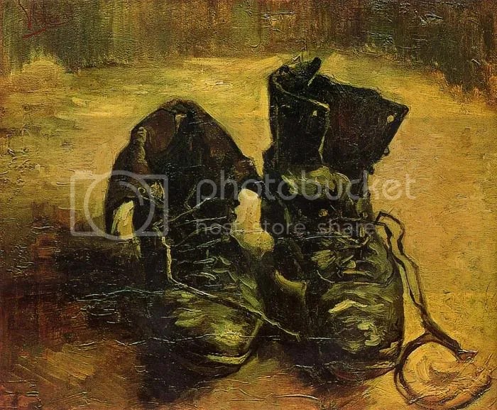 A pair of shoes (1886), Vincent van Gogh