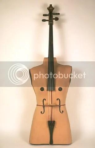 Violoncello by Ken Butler