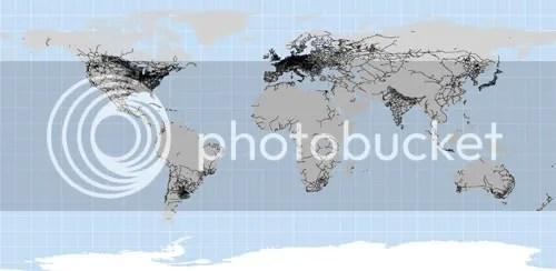 Red mundial de ferrocarril